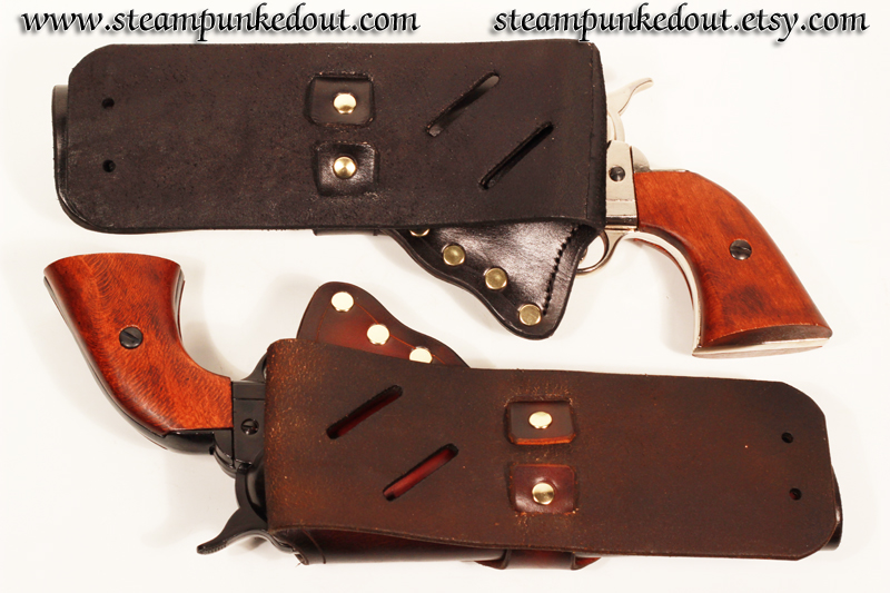 Steampunked Out -- Western Quick Draw Holster --