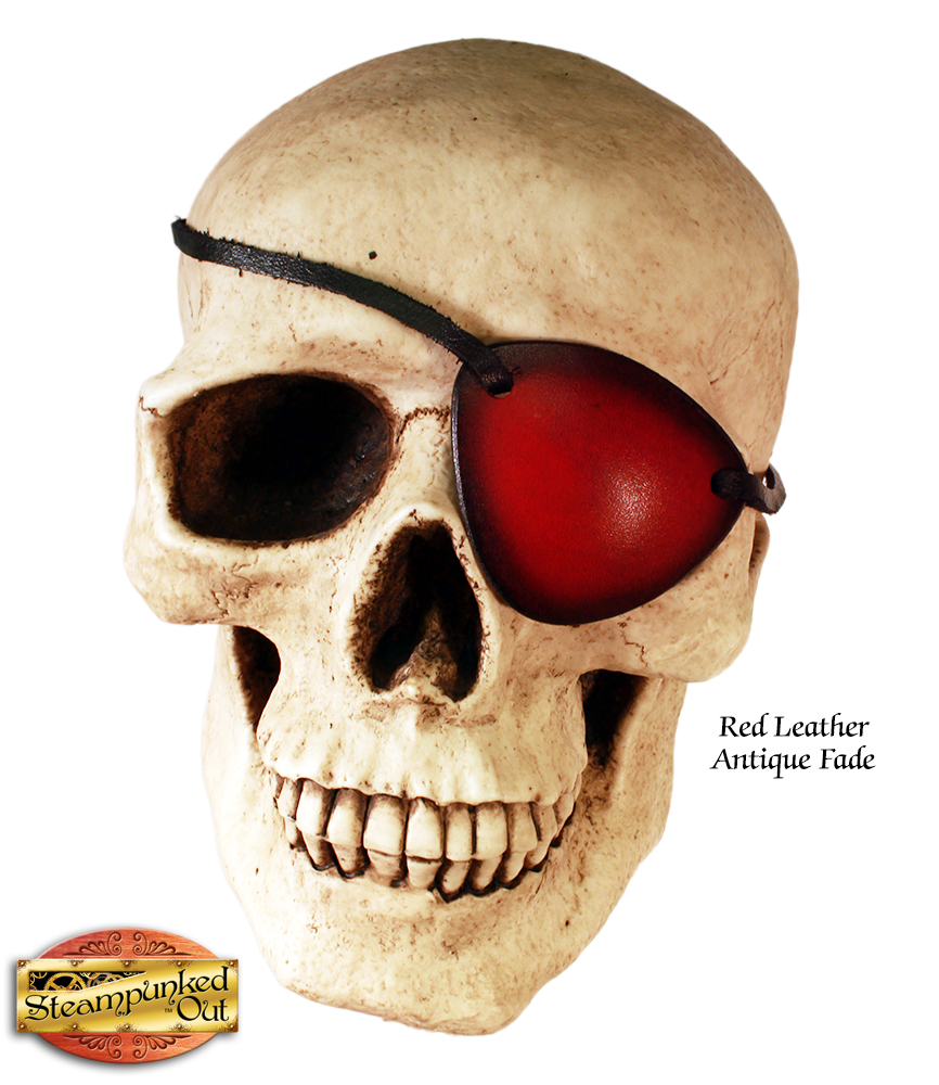 Steampunked Out Leather Eye Patch
