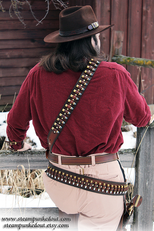 Steampunked Out Bullet Bandolier