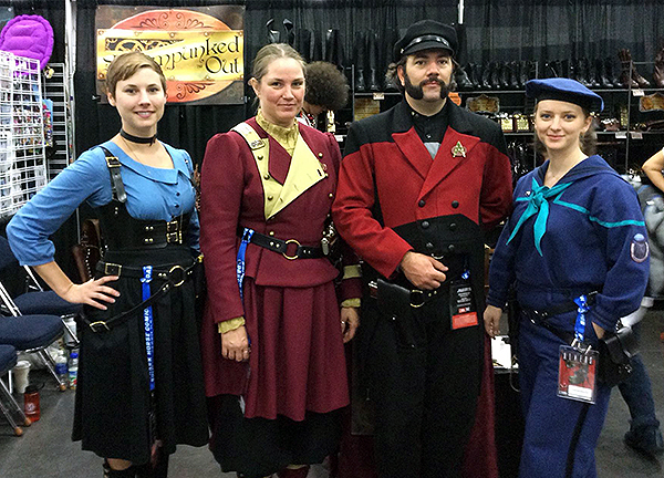 Steampunked Out Star Trek Crew